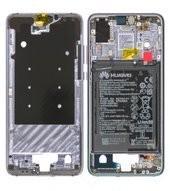 Main Frame + Battery für EML-L29 Huawei P20 Dual - twillight
