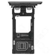 Sim tray für F8221, F8232 Sony Xperia XZs - black