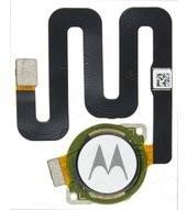 Fingerprint Sensor + Flex für XT1941 Motorola One - white