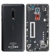 Battery Cover für (TA-1053) Nokia 5 DUAL - black
