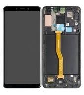 Display (LCD + Touch) + Frame für A920F Samsung Galaxy A9 (2018) - caviar black