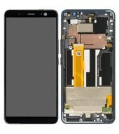 Display (LCD + Touch) + Frame für HTC U11+ - ceramic black