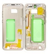 Main Frame für G955F Samsung Galaxy S8+ - maple gold
