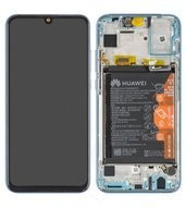LCD + Touch + Frame + Battery für HRY-LX1 Honor 10 Lite - sky blue