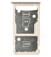 SIM / SD Tray für Huawei Honor 5c, 7 Lite, Huawei GT3 - gold