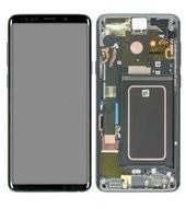 LCD + Touch für G965F, G965FD Samsung Galaxy S9+, S9+ Duos - titanium grey