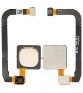 Fingerprint Sensor + Flex für Xiaomi Mi Max 3 - champagne gold