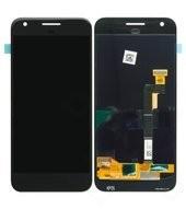Display (LCD + Touch) für G-2PW4200 Google Pixel - black