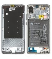 Main Frame + Battery für EML-L29 Huawei P20 Dual - midnight blue