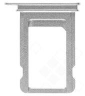 SIM Tray für Apple iPhone X - silver