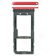 SIM / SD Tray für HTC U11 Dual - solar red