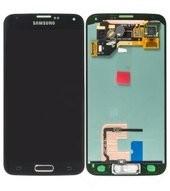 LCD + Touch für G900F Samsung Galaxy S5, S5 Plus - black
