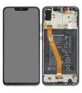 LCD + Touch + Frame + Battery für PAR-LX1, PAR-LX9 Huawei Nova 3 - iris purple