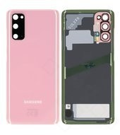 Battery Cover für G980F, G981B Samsung Galaxy S20, S20 5G - cloud pink