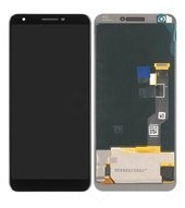 Display (LCD + Touch) für G020C, G020G Google Pixel 3a XL - just black, clearly white, purple ish