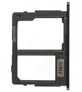 Sim / SD Tray für J730F/DS Samsung Galaxy J7 (2017) - black