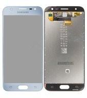 Display (LCD + Touch) + Front für J330F Samsung Galaxy J3 2017 - silver