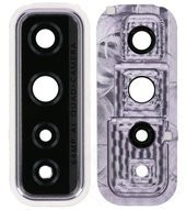 Camera Lens + Bezel für Huawei P40 Lite 5G - space silver