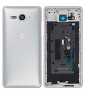 Battery Cover für H8314, H8324 Sony Xperia XZ2 Compact Dual - white silver