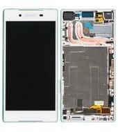 LCD + Touch + Frame für E6603, E6653 Sony Xperia Z5 - white