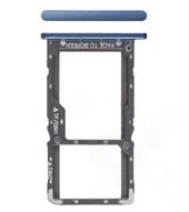 SIM / SD Tray für Xiaomi Pocophone F1 - steel blue