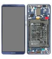 Display (LCD + Touch) + Frame + Battery für Huawei BLA-L09 Mate 10 Pro, BLA-L29 Mate 10 Pro - midnig