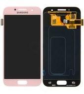 LCD + Touch für A320F Samsung Galaxy A3 2017 - pink