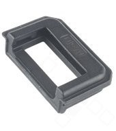 USB Rubber für (SNE-AL00, SNE-LX1) Huawei Mate 20 Lite - black