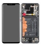 Display (LCD + Touch) + Frame + Battery für (LYA-L09, LYA-L0C) Huawei Mate 20 Pro - black