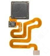 Fingerprint Button + Flex für Huawei P9, P9 Lite - black
