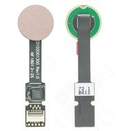 Fingerprint Sensor + Flex für (H8216, H8266, H8314, H8324) Sony Xperia XZ2, XZ2 Compact - ash pink
