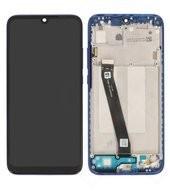 Display (LCD + Touch) + Frame für Xiaomi Redmi 7 - comet blue