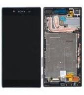 Display (LCD + Touch) + Frame für E6603, E6653 Sony Xperia Z5 - black