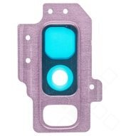 Camera Lens + Bezel für G965F/D Samsung Galaxy S9+ - lilac purple