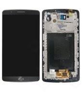 Display (LCD + Touch) + Frame für D855 LG G3 - titan black