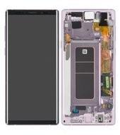 Display (LCD + Touch) + Frame für N960F Samsung Galaxy Note 9 - lavender purple