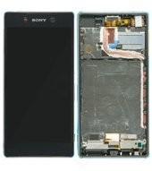 LCD +Touch + Frame für E6553 Sony Xperia Z3+, Z4 - black