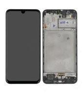 Display (LCD + Touch) + Frame für M315F Samsung Galaxy M31 - space black