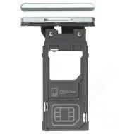 SIM Tray für H8416, H9436, H9493 Sony Xperia XZ3 - silver white