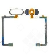 Home button für G925F Samsung Galaxy S6 Edge - white