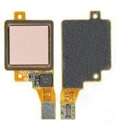Fingerprint Flex für Xiaomi Mi A1 - rose gold