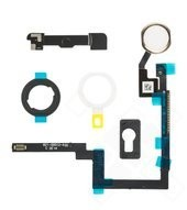 Home Button + Mounting Bracket Set für Apple iPad mini 3 - gold