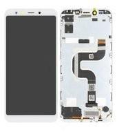 Display (LCD + Touch) + Frame für Xiaomi Mi A2 - white