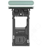SIM Tray für (H8324) Sony Xperia XZ2 Compact Dual - moss green