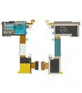 Sim + MicroSD Reader + Flex für Sony Xperia M2