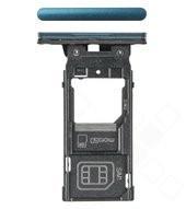 SIM / SD Tray für H8266, H8296 Sony Xperia XZ2 Dual - deep green