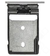 SD Tay für HTC One A9 - silver white