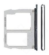 SIM Tray für X420 LG K40 - new platinum grey