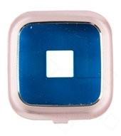 Kamera Frame pink für Samsung N910F Galaxy Note 4