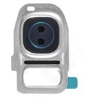 Camera Frame für G930F, G935F Samsung Galaxy S7, S7 Edge - silver